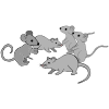 four mice Picture