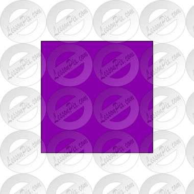 Purple Square Picture