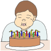 Blowing Candles Picture