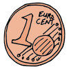 one euro Picture