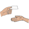 Hand Card Picture