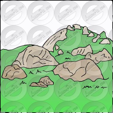 Rocky Hill Clip Art