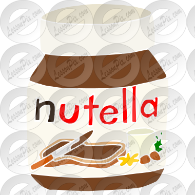 Nutella Stencil for Classroom / Therapy Use - Great ...