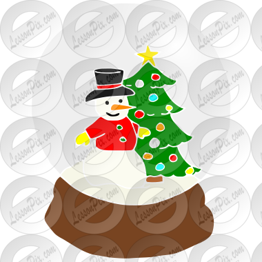 Clip Art Snow Globe Clipart snow globe stencil for classroom therapy use great stencil