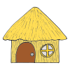Straw House Picture