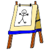 Easel Picture