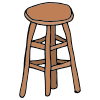 On+a+stool Picture