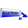 Blue Paint Picture