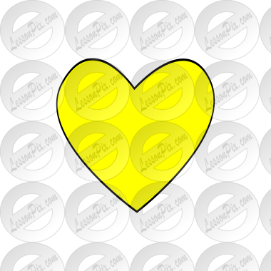 Yellow Heart Picture