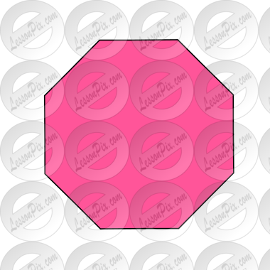 Pink Octagon Picture