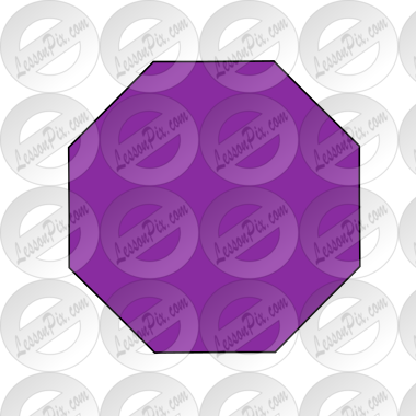 Purple Octagon Picture