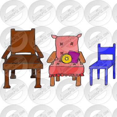 Classroom Chair Clipart 3 Chairs Picture E