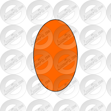 Orange Oval Picture
