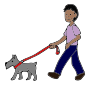 Walk Dog Picture