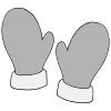 pair of mittens Picture