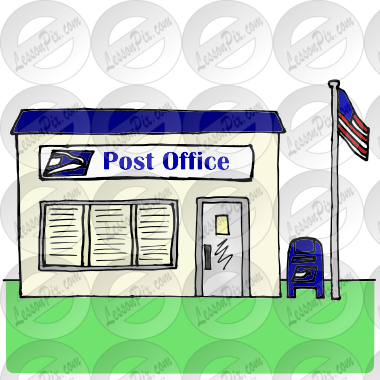 Post Office Picture for Classroom / Therapy Use - Great ...