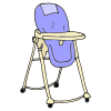 baby high chair Picture