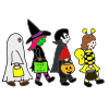 Trick-or-treating Picture
