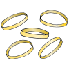 Five golden rings Picture