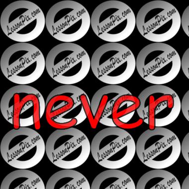 Never Clip Art