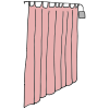 Hospital Curtain Clip Art