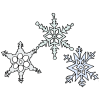 3+Snowflakes Picture