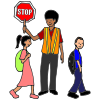 In+my+community+there+is+a+crossing+guard+who+helps+kids+cross+the+street+safely. Picture