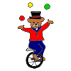 Juggling Bear Picture