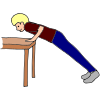 Table Push Ups Picture