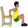 Chair push-ups Picture