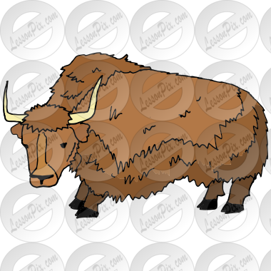 Yak Picture For Classroom Therapy Use Great Yak Clipart