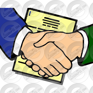 Agreement Picture For Classroom Therapy Use Great Agreement Clipart