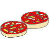 Pizza Bagels Picture