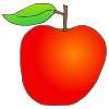 Apple and Stem Picture