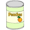 Canned Peaches Picture