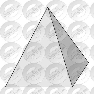 Triangular Prism Clipart Black And White