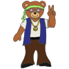 Peace Bear Picture