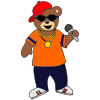 hip hop bear Picture