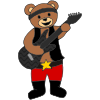 rock star bear Picture