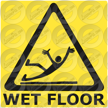 Wet Floor Picture