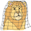 Lion+is+trapped. Picture
