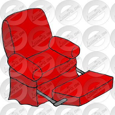 Recliner Picture For Classroom Therapy Use