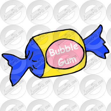 Bubble Gum Picture for Classroom / Therapy Use - Great Bubble Gum ...