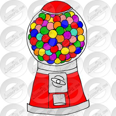Gumball Machine Picture for Classroom / Therapy Use - Great ...
