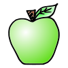 1 Green Apple Picture