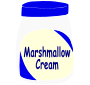 Marshmallow Cream Stencil