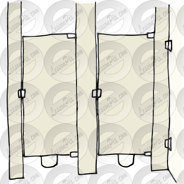 Clip Art of Shower Stall k12531897 - Search Clipart ...