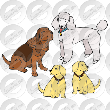 Dogs Picture for Classroom / Therapy Use - Great Dogs Clipart