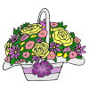 Flower+Basket Picture