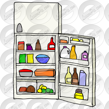 refrigerator clipart png. open refrigerator picture clipart png